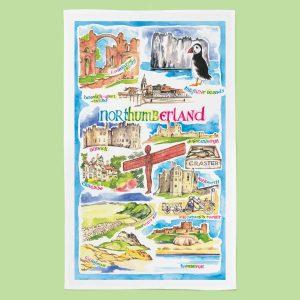 Northumberland_TeaTowel