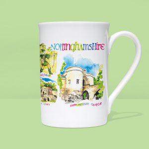 Nottinghamshire Mug