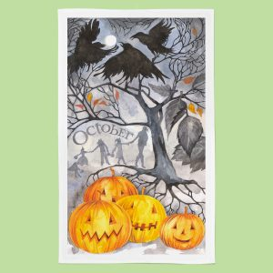 October_TeaTowel
