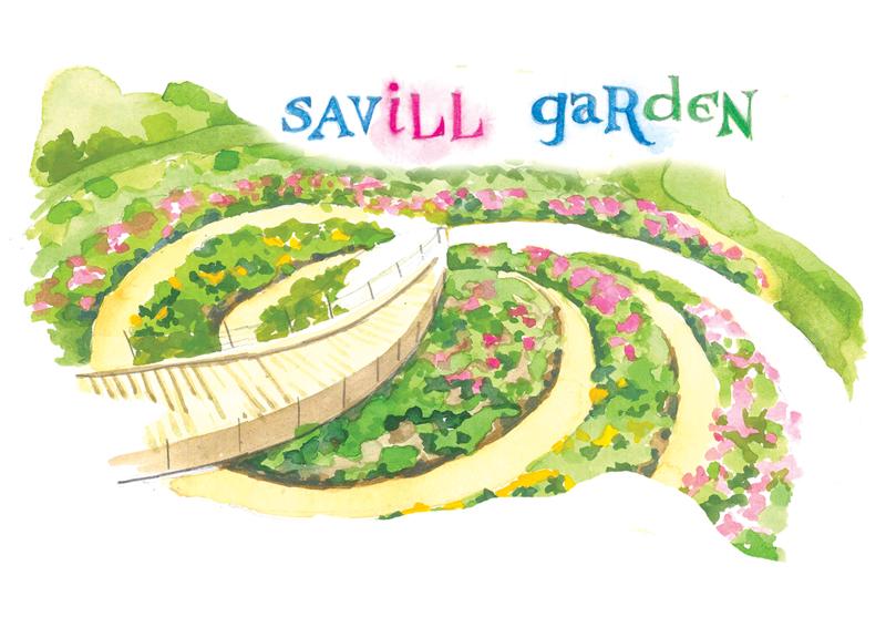 Berkshire Savill Garden