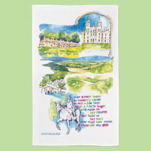 Oxfordshire_TeaTowel_Essence Range