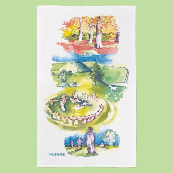 Wiltshire_TeaTowel_Essence Range
